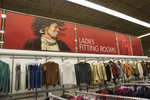 Large format retail signage